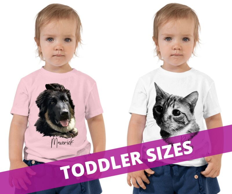 custom pet shirts for toddlers